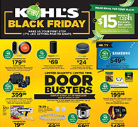 See Kohl's Black Friday Ad