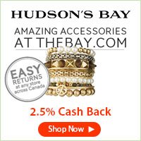 Get a great deal at Hudson's Bay with Coupons and Cash Back from Ebates!