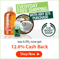Get a great deal at The Body Shop Canada with Coupons and Cash Back from Ebates!