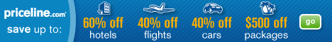 Hotels, flights, cars & vacation package deals plus get up to 5.0% Cash Back