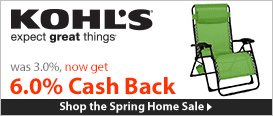 Shop the Spring Home Sale with Double Cash Back!