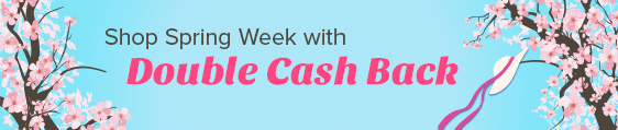 Find Your Fabulous with Double Cash Back