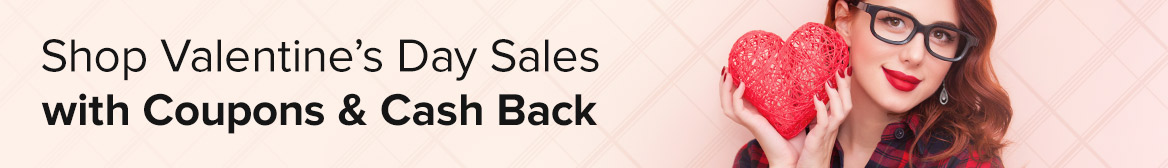 Shop Valentine's Day Sales with Cash Back