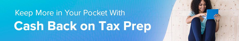Shop Tax Prep Deals with Cash Back at Ebates