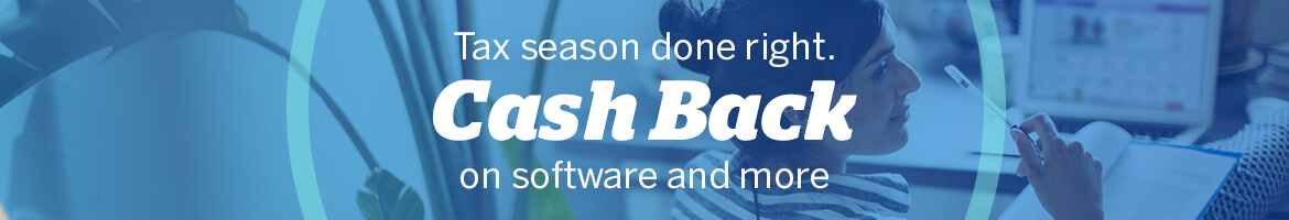 Shop Tax Prep Deals with Cash Back at Ebates
