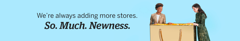 Get Cash Back on new stores