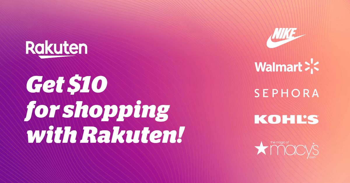 Shop  Earn  Get Cash Back    Rakuten