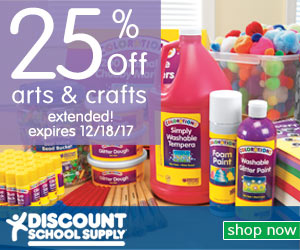Shop At Discount School Supply With 2.0% Cash Back