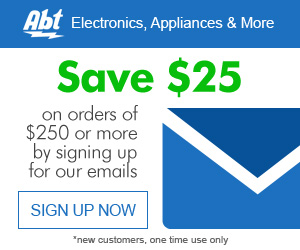 Shop At Abt Electronics With 2.0% Cash Back