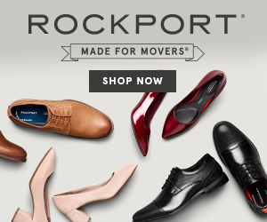 Shop at Rockport.com with 3.5% Cash Back