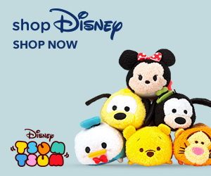 Shop at shopDisney with 1.0% Cash Back