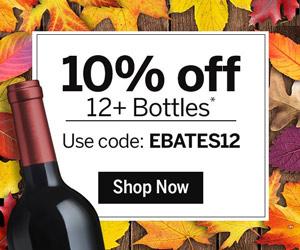 Shop at Wine.com with 2.5% Cash Back