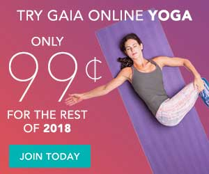 Shop at Gaia with $7.50 Cash Back