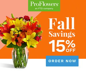 Shop at ProFlowers with 22.0% Cash Back