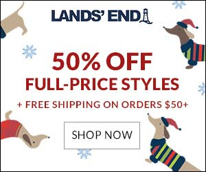 Shop at Lands' End with 4.0% Cash Back