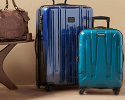 Get up to 3.5% Cash Back on Luggage at Amazon.