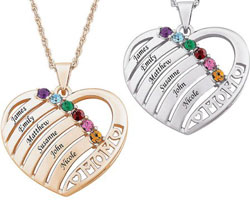 Get up to 5.0% Cash Back on Personalized Jewelry at Walmart.