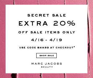 45b0ed2728291 Save at Marc Jacobs Beauty with Coupons and Cash Back from Ebates!