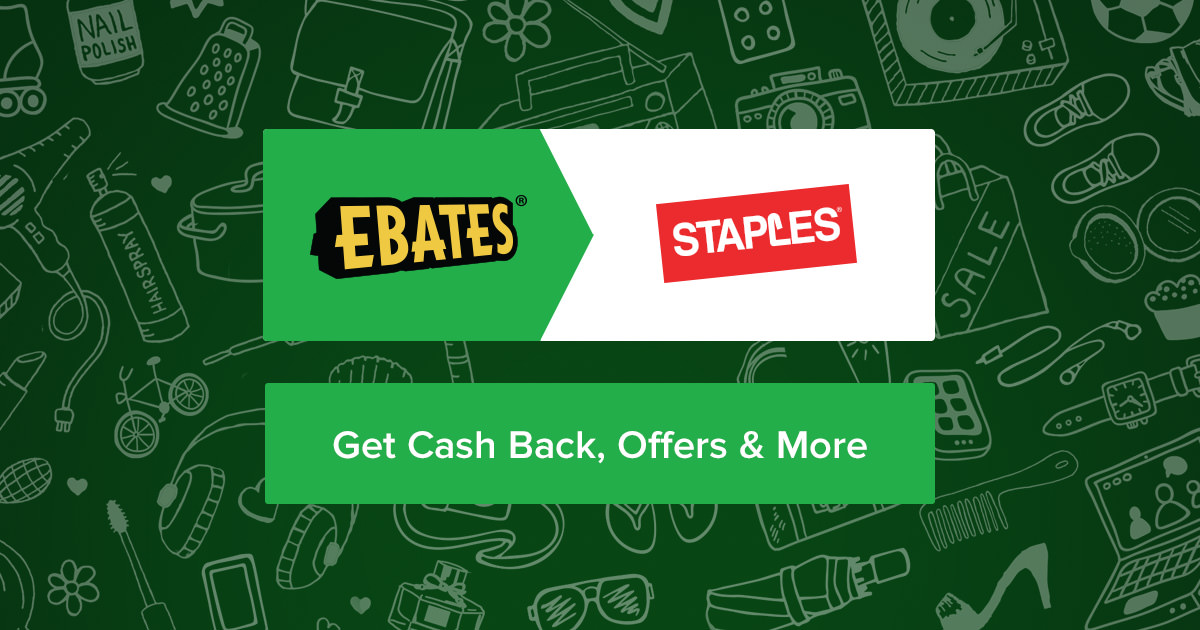Up to 40% Off Staples Coupons, Promo Codes + 2.0% Cash Back
