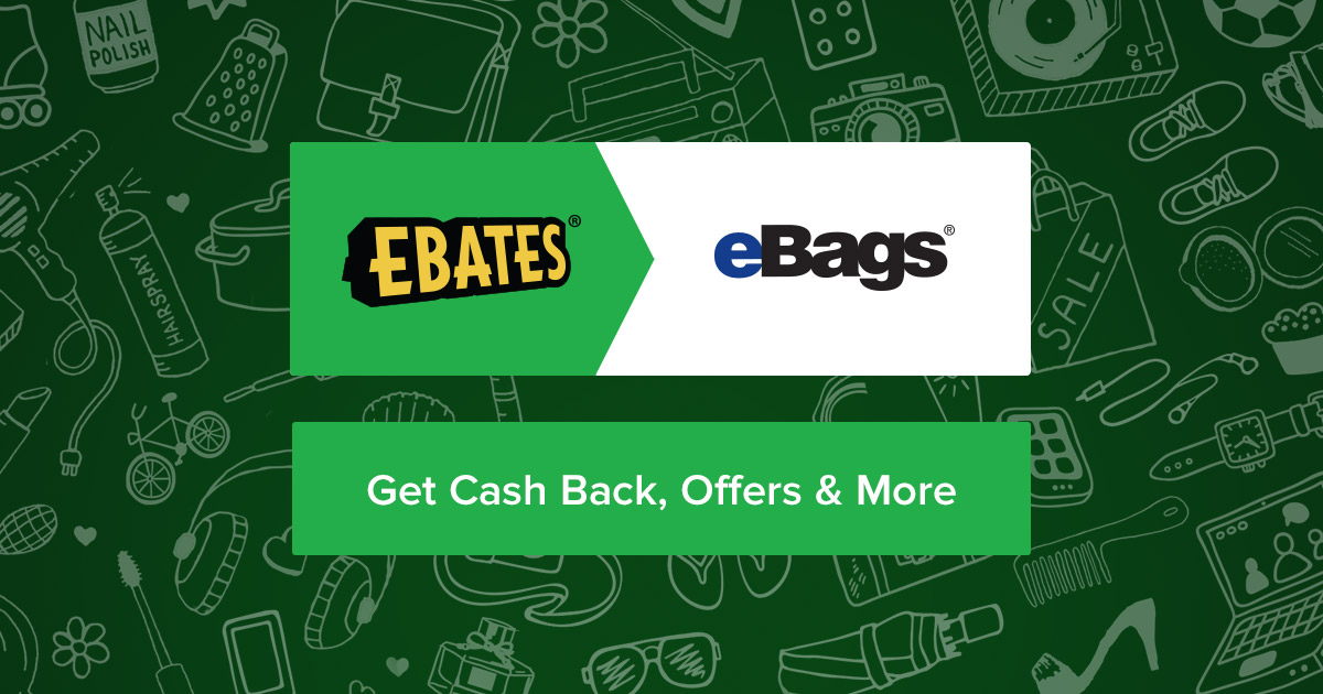 eBags Coupons, Promo Codes & 12.0% Cash Back | Ebates