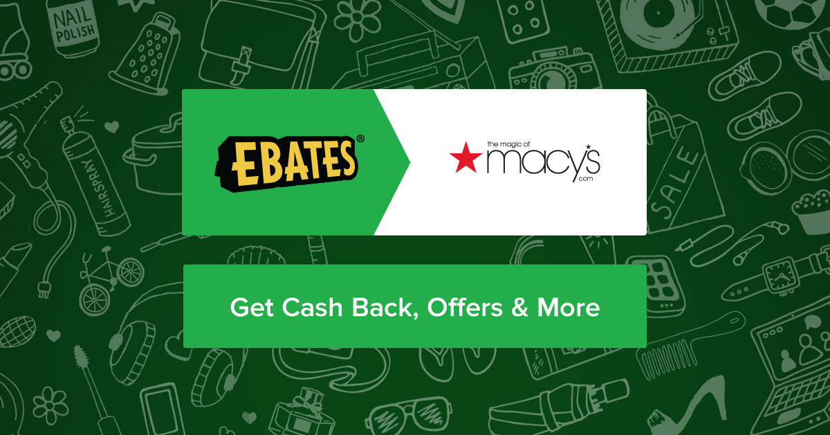 Macy's 12.0% Cash Back + Coupons