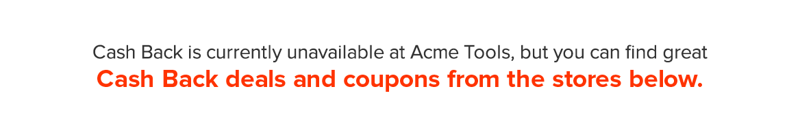 Acme Tools Promotional Code