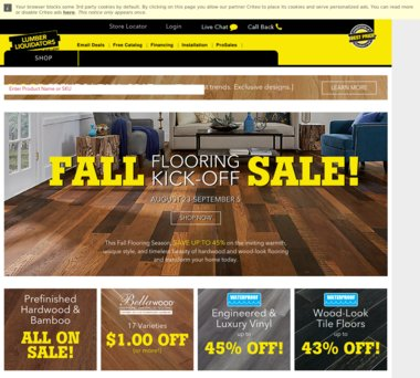 Up to 50% Off Lumber Liquidators Coupons, Promo Codes + 1 0