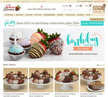 45% off Shari's Berries Coupons: 2017 Promo Codes