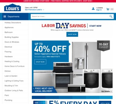 Up to 60% Off Lowes Coupons, Promo Codes + 1 0% Cash Back