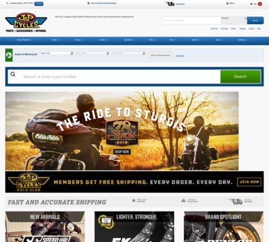 Up to 40% Off J&P Cycles Coupons, Promo Codes + 3 0% Cash Back