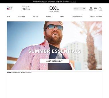 dxl shoes coupons