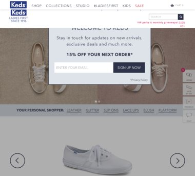 Keds Coupons, Promo Codes + 3.0% Cash Back