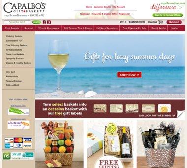 sc 1 st  Ebates & Capalbos Gift Baskets Coupons Promo Codes u0026 5.0% Cash Back