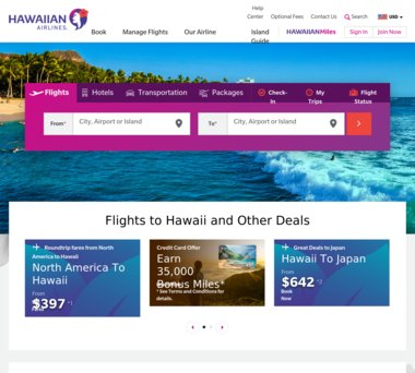 Hawaiian Airlines Coupons, Promo Codes & $3 00 Cash Back