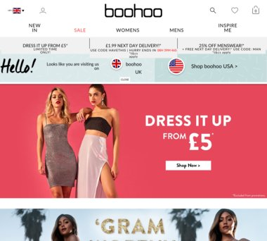 Up to 50% Off boohoo Coupons, Promo Codes + 3 0% Cash Back