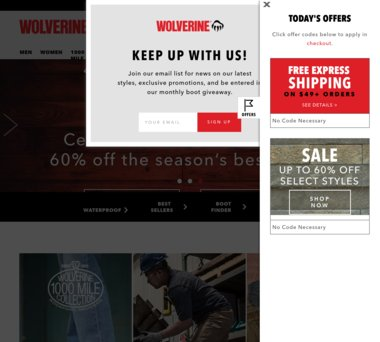 Up to 70% Off Wolverine Coupons, Promo Codes + 3 5% Cash Back