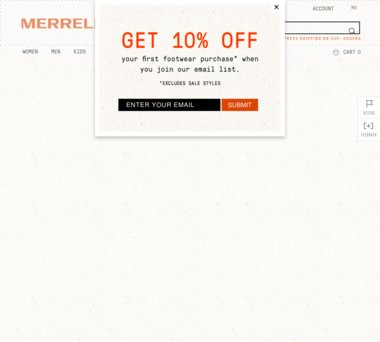 Up to 30% Off Merrell Coupons, Promo Codes + 3 5% Cash Back