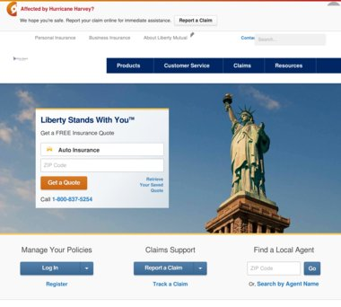 Up To 60 Off Liberty Mutual Insurance Coupons Promo Codes 6060 Cool Liberty Mutual Insurance Quote