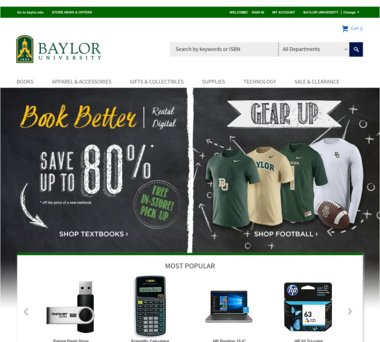 Baylor Bookstore Coupons, Promo Codes & 1 5% Cash Back