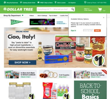 Dollar Tree Coupons, Promo Codes & 1 0% Cash Back