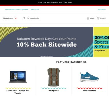 Up to 66% Off Shop Rakuten Coupons, Promo Codes + 6 0% Cash Back