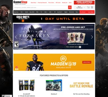 Up to 33% Off GameStop Coupons, Promo Codes + 3 0% Cash Back