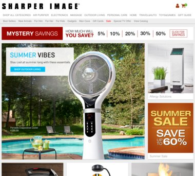 Up To 15 Off Sharper Image Coupons Promo Codes 10 Cash Back
