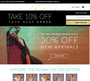 ef01052c90281 Up to 50% Off Fredericks of Hollywood Coupons