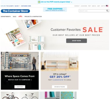 container store coupon codes 2019