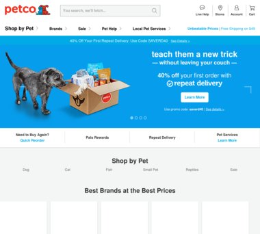 Up to 50% Off Petco Coupons, Promo Codes + 2 0% Cash Back