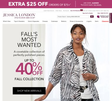 1f3e70c058f Up to 80% Off Jessica London Coupons