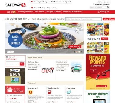 Up to $20 Off Safeway Coupons, Promo Codes + 10 0% Cash Back