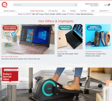 Up to 38% Off QVC Coupons, Promo Codes + 1 0% Cash Back