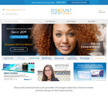 Up To 20 Off Discountcontactlenses Com Coupons Promo Codes 15 0 Cash Back